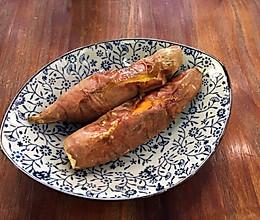 蜜汁烤红薯的做法