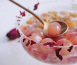 仙子桂花玫瑰水晶丸子~的做法
