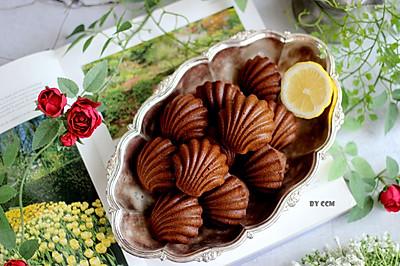 #童年不同樣,美食有花樣#巧克力摩卡瑪德琳---必備零食
