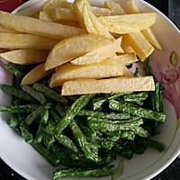 餐馆点餐率极高的下饭菜——烧茄子豆角。的做法图解4