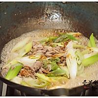 #快手又营养,我家的冬日必备菜品# 葱爆羊肉的做法图解8