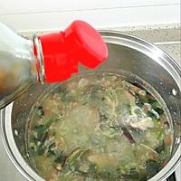 菠菜香菇肉末粥#宝宝餐#的做法图解7