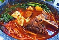 韩式辣牛脊骨汤的做法