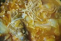 金针菇肥牛锅的做法