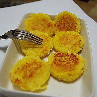 芝士红薯饼