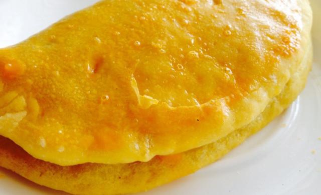 原味烤(蒸)红薯夹饼
