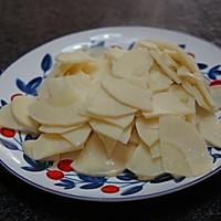 春天的味道-豌豆蘑菇炒春笋的做法图解10
