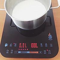 椰丝牛奶小方的做法图解3