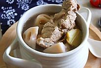 莲藕腔骨汤的做法