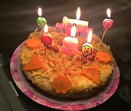 自制狗狗健康生日蛋糕的做法