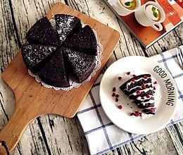 【无烤箱版】黑米蛋糕的做法