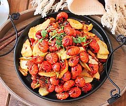#我们约饭吧#干锅香辣龙虾尾的做法