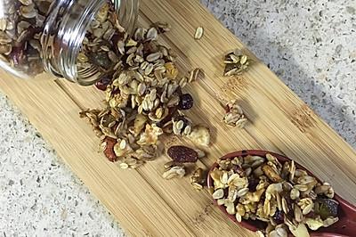 格兰诺拉燕麦片(granola)