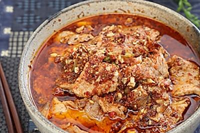 100个人就有100种水煮牛肉,用情多深就有多辣