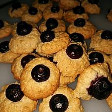 蓝莓燕麦小点