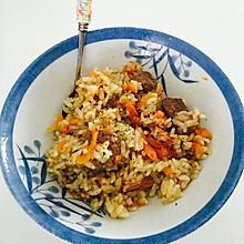 超级简单好吃有营养的新疆手抓饭