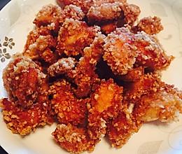 盐酥鸡—面包糠版的做法