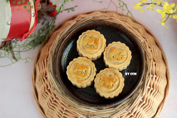 广式月饼全家福#晒出你的全家大餐#的做法