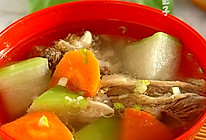 羊骨萝卜汤#比暖男更暖的是#的做法