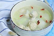 贴秋膘又去秋燥就喝冬瓜丸子汤!的做法