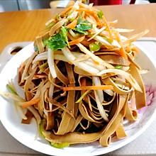 #中秋团圆食味#卤个豆腐皮拌拌吃