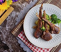 藤椒风味烤羊排的做法