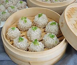 软糯Q弹的珍珠糯米丸子,不用泡米不用等,简单好做,咬一口喷香的做法