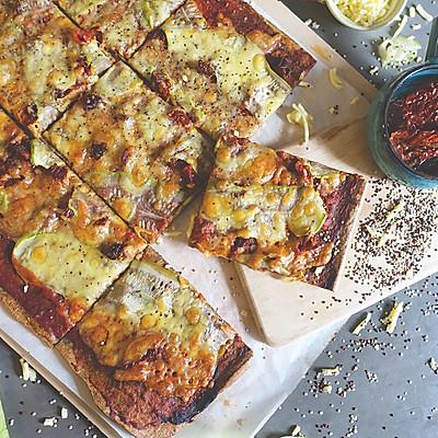 低脂藜麦番茄披萨【安卡西厨】