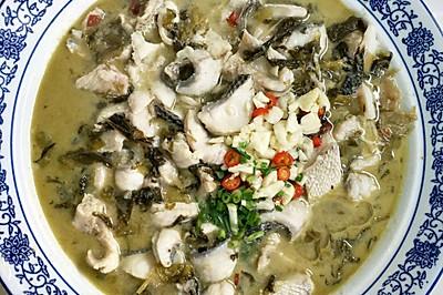 酸菜鱼#金龙鱼外婆乡小榨菜籽油 我要上春碗#