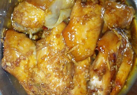 蒜香烤鸡翅的做法