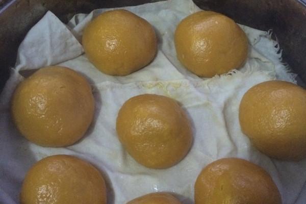 甜心南瓜饼(包)的做法