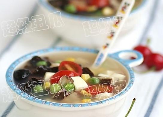 木耳豆腐汤
