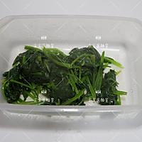 菠菜青酱海鲜意面的做法图解2