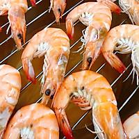 #硬核菜谱制作人#健康低脂小零食烤虾干的做法图解9