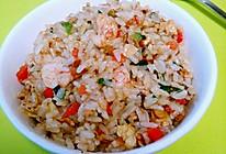 虾仁杂蔬蛋炒饭的做法