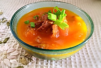西红柿牛腩汤的做法