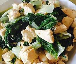 白菜豆腐的做法
