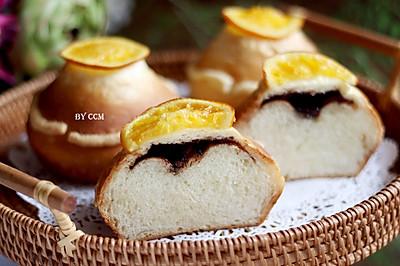 最好吃的巧克力甜橙面包,12图讲解,一看就会