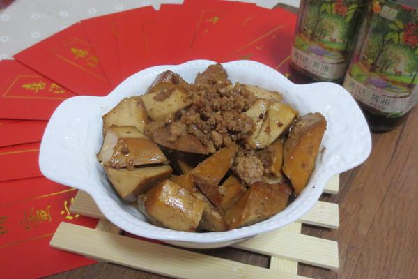 #菁选酱油试用之红烧五香豆干#的做法