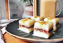香甜不腻口的桂花红豆糕的做法