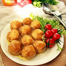 咖喱虾蓉酿口蘑#橄露贝贝橄榄油#