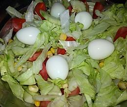 超简单减肥沙拉(约250卡路里)的做法