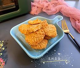 自制无油健康的麦乐鸡块的做法