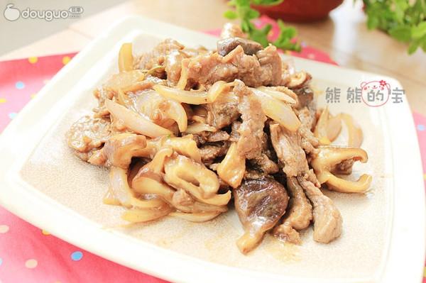 鲜嫩黑椒牛肉的做法