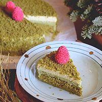 网红北海道双层抹茶芝士蛋糕#美的FUN烤箱·焙有FUN儿#