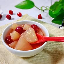 #百变莓小姐#陈香蔓越莓炖梨汤
