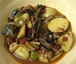 土豆烧蟮鱼的做法