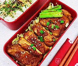 #下饭红烧菜#煎鸡腿便当的做法