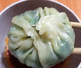 韭菜鸡蛋水晶包(懒人饺子皮版)的做法
