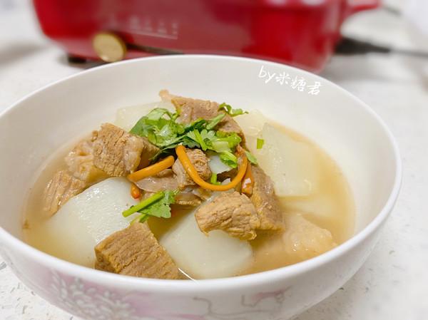 冬日进补:清炖萝卜牛腩汤(极简版)的做法